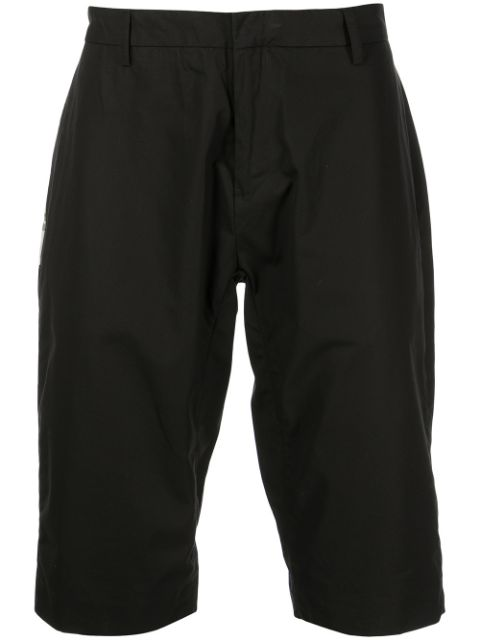 CLOT graphic-patch tailored shorts