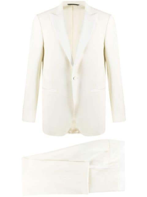 Canali single-breasted two-piece dinner suit