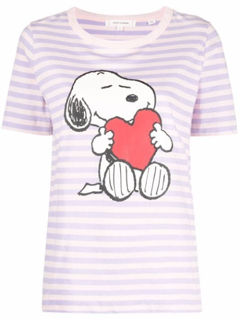 Chinti and Parker snoopy love breton T-shirt