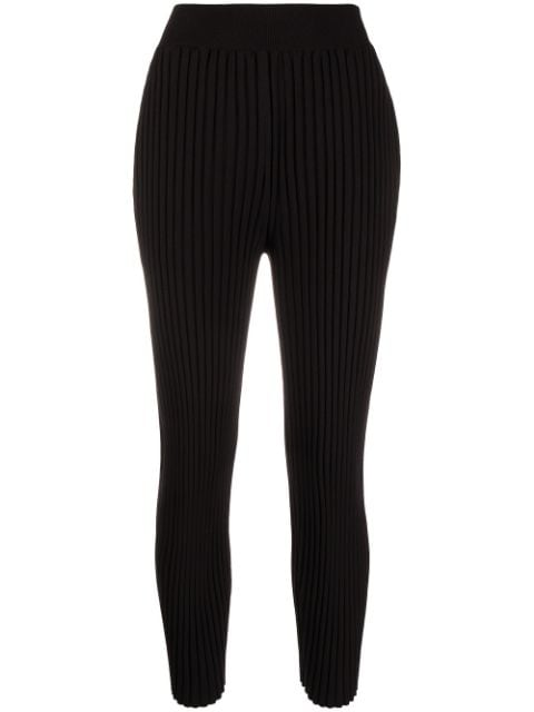 Stella McCartney ribbed knitted trousers