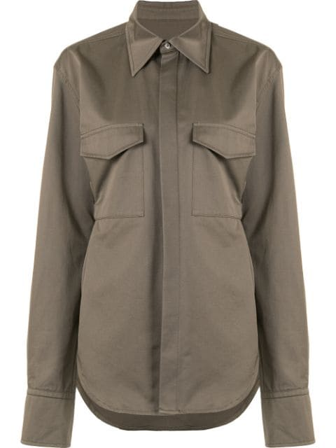 Dion Lee belted utility shirt
