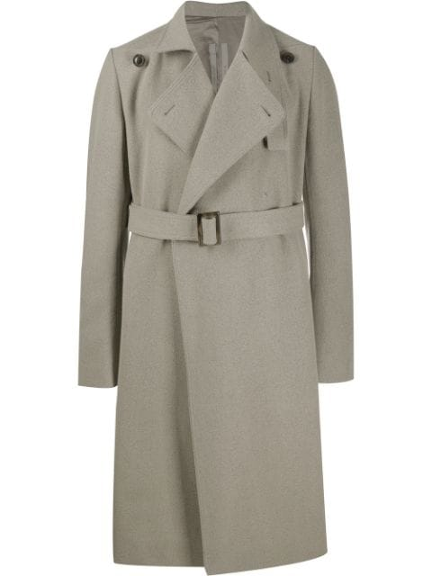 Rick Owens belted trenchcoat