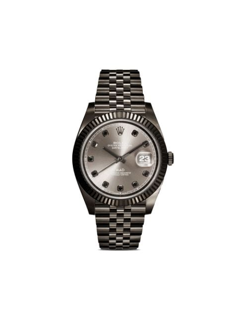 MAD Paris customised pre-owned Rolex Datejust watch