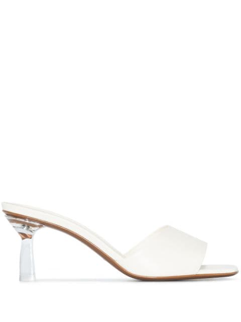 NEOUS Kang leather 65mm sandals