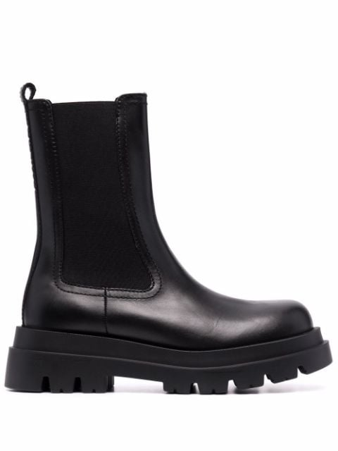 Twin-Set ridged-sole ankle boots