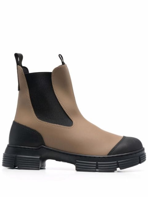 GANNI chunky ankle boots