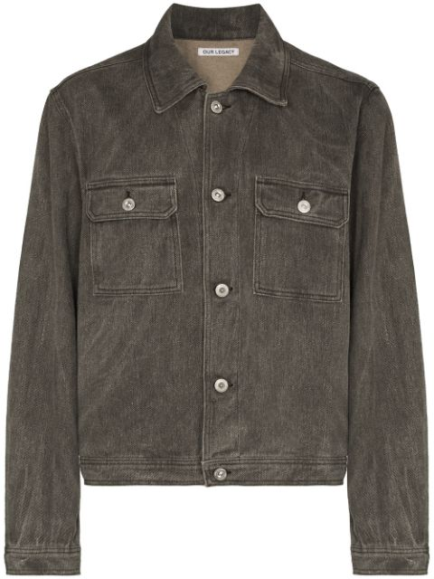 Our Legacy Mono buttoned denim jacket